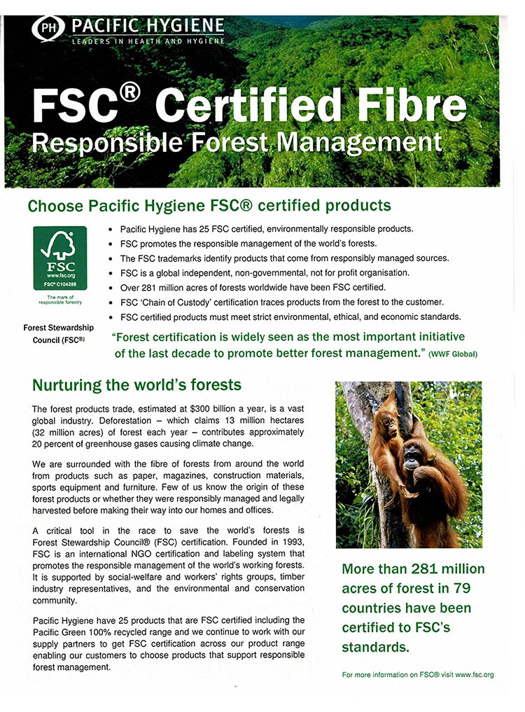 FSC Certified List page 1