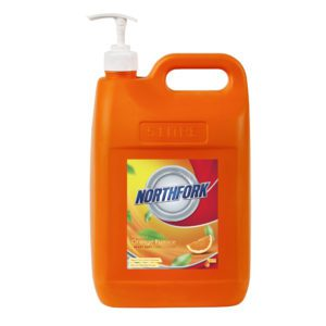 Heavy Duty Hand Cleaner, & orange pumice cleaners