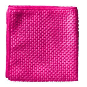 Antibacterial microfibre cloth - pink