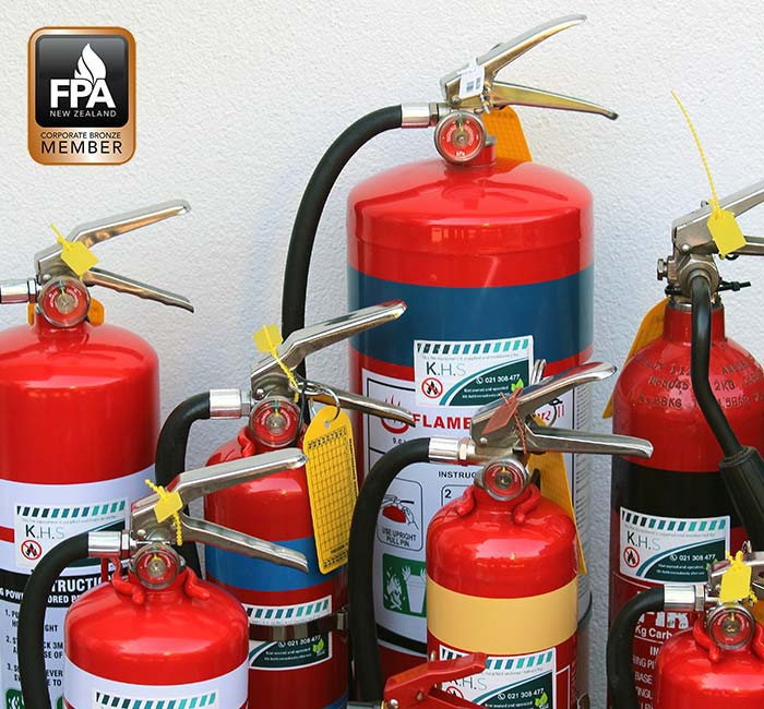 Fire extinguisher pressure test and refill service in Christchurch